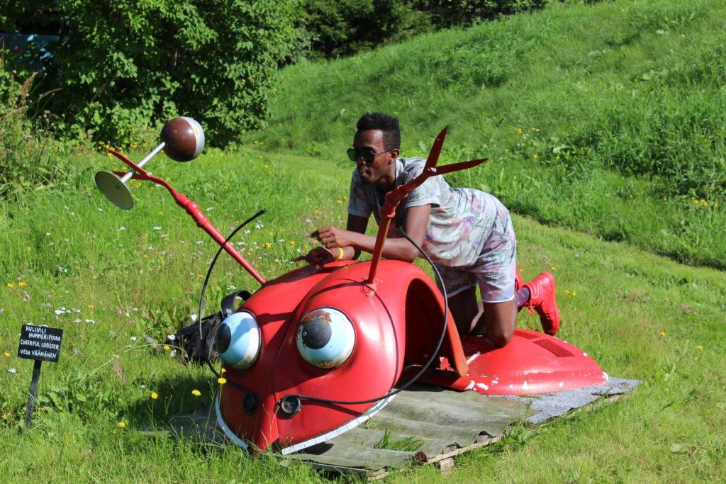 Lets take a ride on beetle